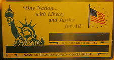 LADY LIBERTY SECURITY CARD