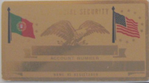 PORTUGUESE FLAG SECURITY CARD
