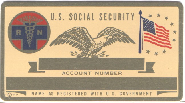 RN SECURITY CARD