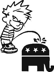Calvin Republican Elephant